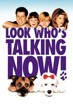 Look Who's Talking Now movie poster.