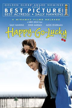 Happy-Go-Lucky movie poster.
