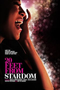Twenty Feet From Stardom movie poster.
