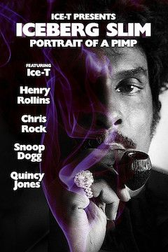 Poster for the movie Iceberg Slim: Portrait of a Pimp