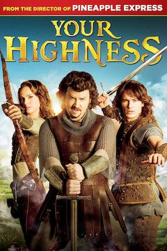 Your Highness movie poster.