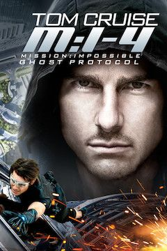 Mission: Impossible - Ghost Protocol movie poster.