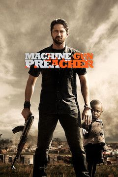 Machine Gun Preacher movie poster.