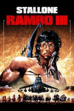 Poster for the movie Rambo III