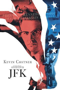 Poster for the movie JFK