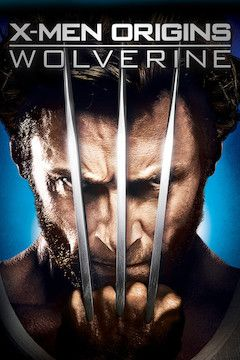 X-Men Origins: Wolverine movie poster.