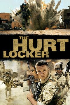 The Hurt Locker movie poster.