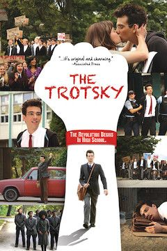 Poster for the movie The Trotsky