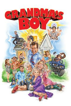 Grandma's Boy movie poster.
