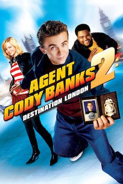Agent Cody Banks 2: Destination London movie poster.