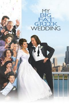 My Big Fat Greek Wedding movie poster.