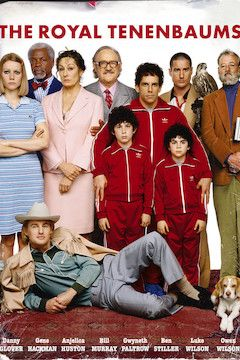 The Royal Tenenbaums movie poster.