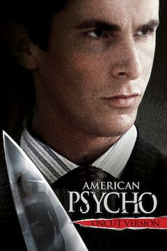 Poster for the movie American Psycho