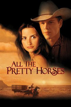 All the Pretty Horses movie poster.