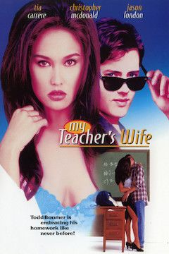 My Teacher's Wife movie poster.