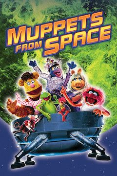 Muppets From Space movie poster.