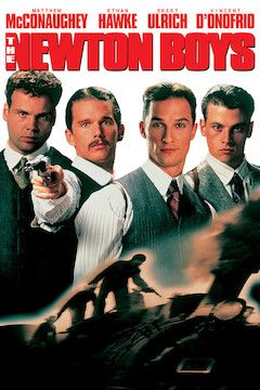 The Newton Boys movie poster.