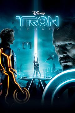 Tron: Legacy movie poster.