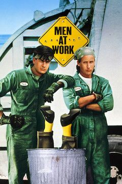 Men at Work movie poster.