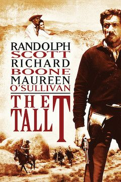 The Tall T movie poster.
