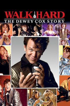 Walk Hard: The Dewey Cox Story movie poster.