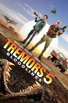 Tremors 5: Bloodlines movie poster.