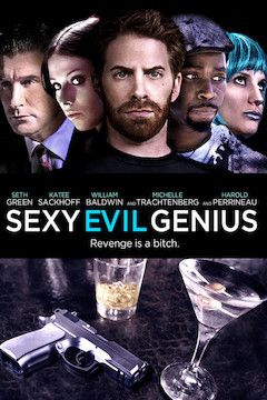 Sexy Evil Genius movie poster.