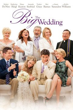 The Big Wedding movie poster.