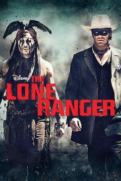 The Lone Ranger movie poster.