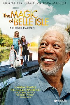 The Magic of Belle Isle movie poster.