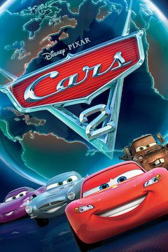 Cars 2 movie poster.
