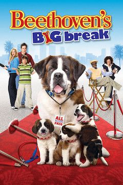 Beethoven's Big Break movie poster.