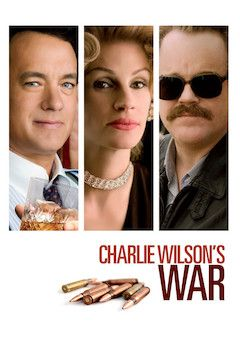 Charlie Wilson's War movie poster.