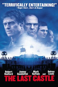 The Last Castle movie poster.