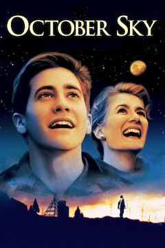 October Sky movie poster.