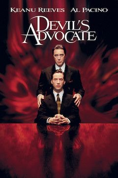 The Devil's Advocate movie poster.