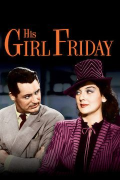 His Girl Friday movie poster.