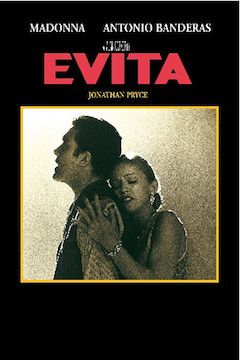 Poster for the movie Evita