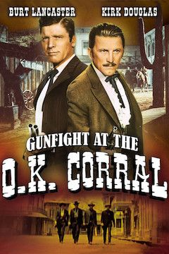 Gunfight at the O.K. Corral movie poster.
