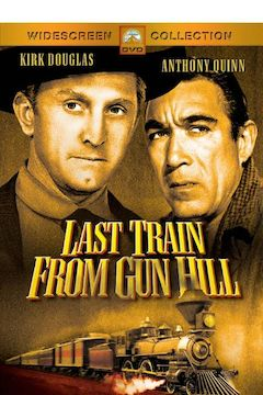 Last Train From Gun Hill movie poster.