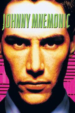 Johnny Mnemonic movie poster.
