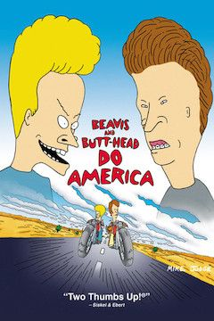 Beavis and Butt-Head Do America movie poster.