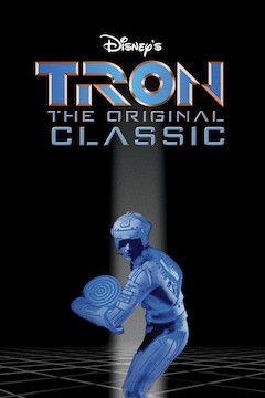 Poster for the movie Tron