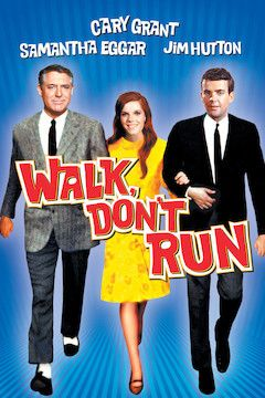 Walk, Don't Run movie poster.