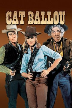 Poster for the movie Cat Ballou