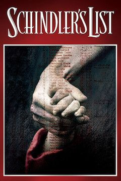 Schindler's List movie poster.