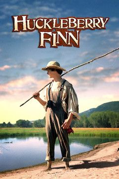 Huckleberry Finn movie poster.