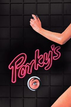 Porky's movie poster.