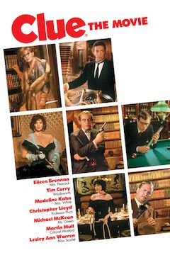 Clue movie poster.