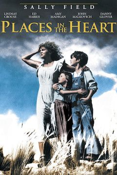 Places in the Heart movie poster.